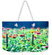 Flowers Everywhere Weekender Tote Bag