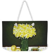 Flowers For Mother Weekender Tote Bag