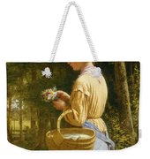 Flowers From The Woods Weekender Tote Bag by JO Bank
