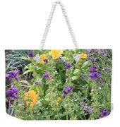 Flowers In Charlottenburg Palace Garden Weekender Tote Bag
