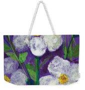 Flowers In Moonlight Weekender Tote Bag