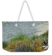 Flowers In The Gold Hill Desert Weekender Tote Bag