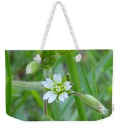 Flowers Of The Grass Weekender Tote Bag