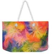 Flowers On Color Weekender Tote Bag