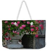 Flowers On The Steps Weekender Tote Bag