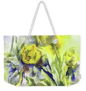 Flowery Abstraction Weekender Tote Bag
