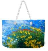 Flowery Sky Weekender Tote Bag