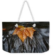 Flowing Leaf Weekender Tote Bag