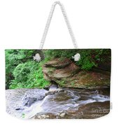 Flowing Water Weekender Tote Bag
