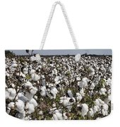 Fluffy White Cotton Bolls Weekender Tote Bag