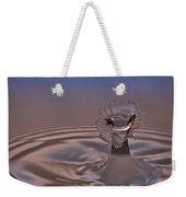 Fluid Flower Weekender Tote Bag