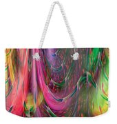 Fluidic Space Weekender Tote Bag