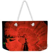 Fluorescent Coral In Uv Light Weekender Tote Bag