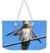 Fluttering Swallow Weekender Tote Bag