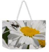 Fly In The Flower Weekender Tote Bag