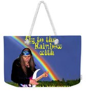 Fly To The Rainbow With Uli Jon Roth Weekender Tote Bag