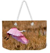 Flying Across The Wetlands Weekender Tote Bag