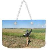 Flying Baby Pandas. North Dakota. Weekender Tote Bag