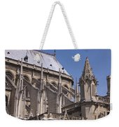 Flying Buttress At Nortre Dame Cathedral Weekender Tote Bag