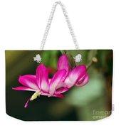Flying Cactus Flower Weekender Tote Bag
