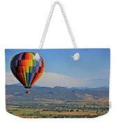 Flying Colors Weekender Tote Bag by Scott Mahon