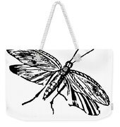 Flying Insect Weekender Tote Bag