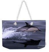 Flying Porpoise Weekender Tote Bag