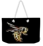 Flying Wasp Weekender Tote Bag
