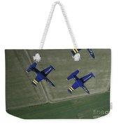 Flying With The Aero L-39 Albatros Weekender Tote Bag by Daniel Karlsson
