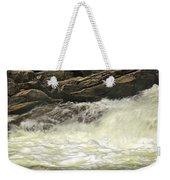 Foamy Cascade Weekender Tote Bag