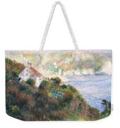 Fog On Guernsey Weekender Tote Bag