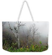 Foggy Day On The Blueridge Weekender Tote Bag