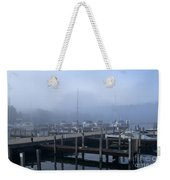 Foggy Morning In Door County Weekender Tote Bag