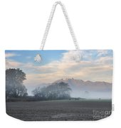 Foggy Morning Weekender Tote Bag