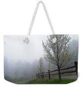 Foggy Trees In The Valley Weekender Tote Bag
