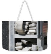 Folded Fire Hose Weekender Tote Bag
