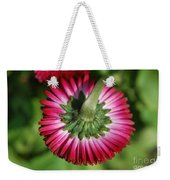 Folded Flower Weekender Tote Bag