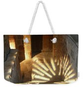 Follow The Light-stairs Weekender Tote Bag