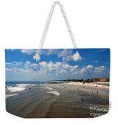 Folly Beach Charleston South Carolina Weekender Tote Bag