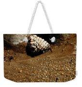 Fools Gold And Pine Cone Weekender Tote Bag