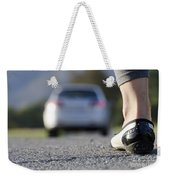 Foot And Car Weekender Tote Bag