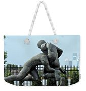 Football At Citizens Bank Park Weekender Tote Bag by Alice Gipson
