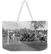 Football Game, 1912 Weekender Tote Bag
