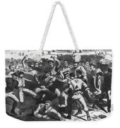 Football: Soldiers, 1865 Weekender Tote Bag
