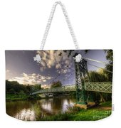 Footbridge Over The Severn  Weekender Tote Bag