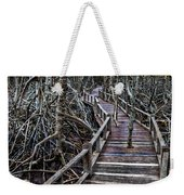 Footpath In Mangrove Forest Weekender Tote Bag by Adrian Evans