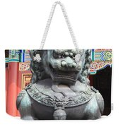 Forbidden City Lion Guardian Weekender Tote Bag