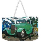 Ford Abstract Weekender Tote Bag