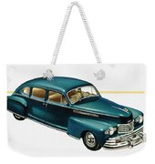 Ford Lincoln Ad, 1946 Weekender Tote Bag