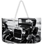 Ford Model T Film Noir Weekender Tote Bag by Bill Cannon